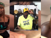 ATW – WeedHead Wakandan Shows Tommy Sotomayor Her Kitty On FB Live To Prove Shes Not A Man! (Video)