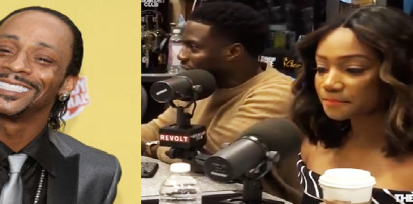 9/21/18 – Kevin Hart & Tiffany Haddish Clap Back At Katt Williams for The False Things He Said About Them! (Live Broadcast)