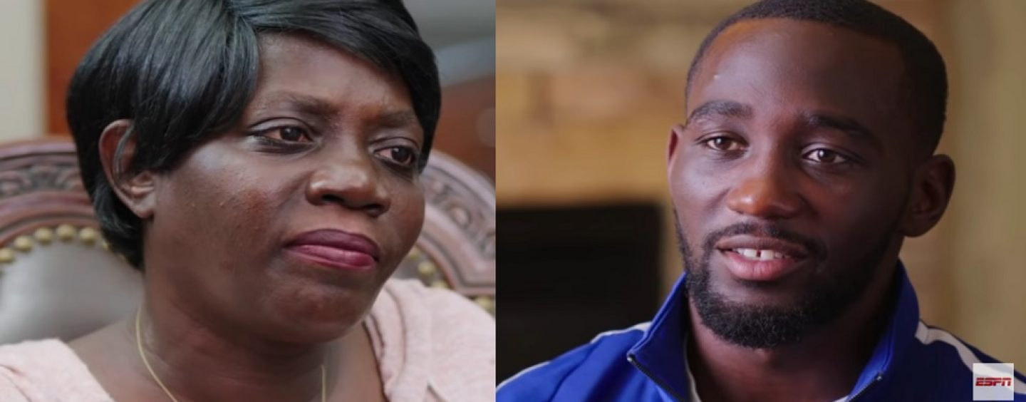 Boxing Champion Terrence Crawford Moms Interview Proves Single Black Women Make Sh*tty Mothers! (Live Broadcast)