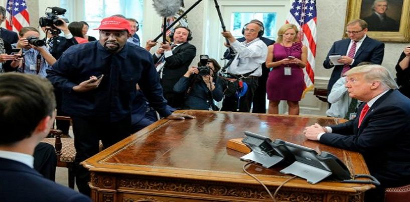 Kanye West Full Speech & Rant w/ President Donald Trump Asking Him To Pardon Chicago Drug King Pin! (Live Broadcast)