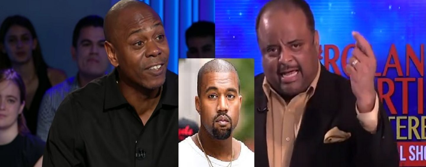 Dave Chappelle & Roland Martin Joke & Deconstruct Kanye West's Coonfilled, Bootlicking Donald Trump Rant! (Live Broadcast)