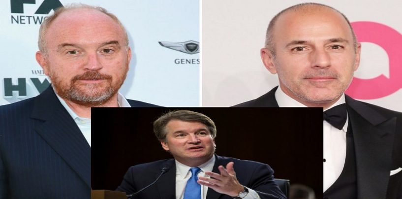 10/1/18 – Matt Lauer & Louis CK Return! How Long Should #MeToo Male Perps Not Be Allowed To Work Again? (Live Broadcast)