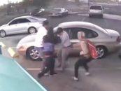 Vegas Niggly Bears Escape Hoodzoo To Rob & Maul Random Snow People At Large! (Video)