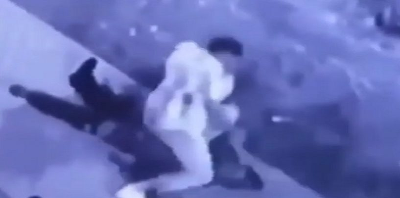 Thugs Get Into A Shootout, One Falls Down & Another Shoots Him Point Blank In The Face 4 Times! Caught On Camera (Video)