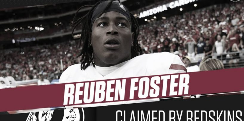 Reuben Foster, Arrested For Domestic Violence Twice But Still A Better Option Than Colin Kaepernick? WTF? (Live Broadcast)