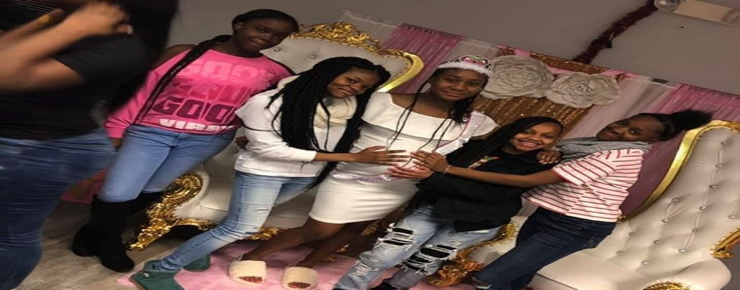 14 Year Old Girls Throw Their 14 Year Old Friend A Baby Shower With Adults Approval! SMH (Live Broadcast)
