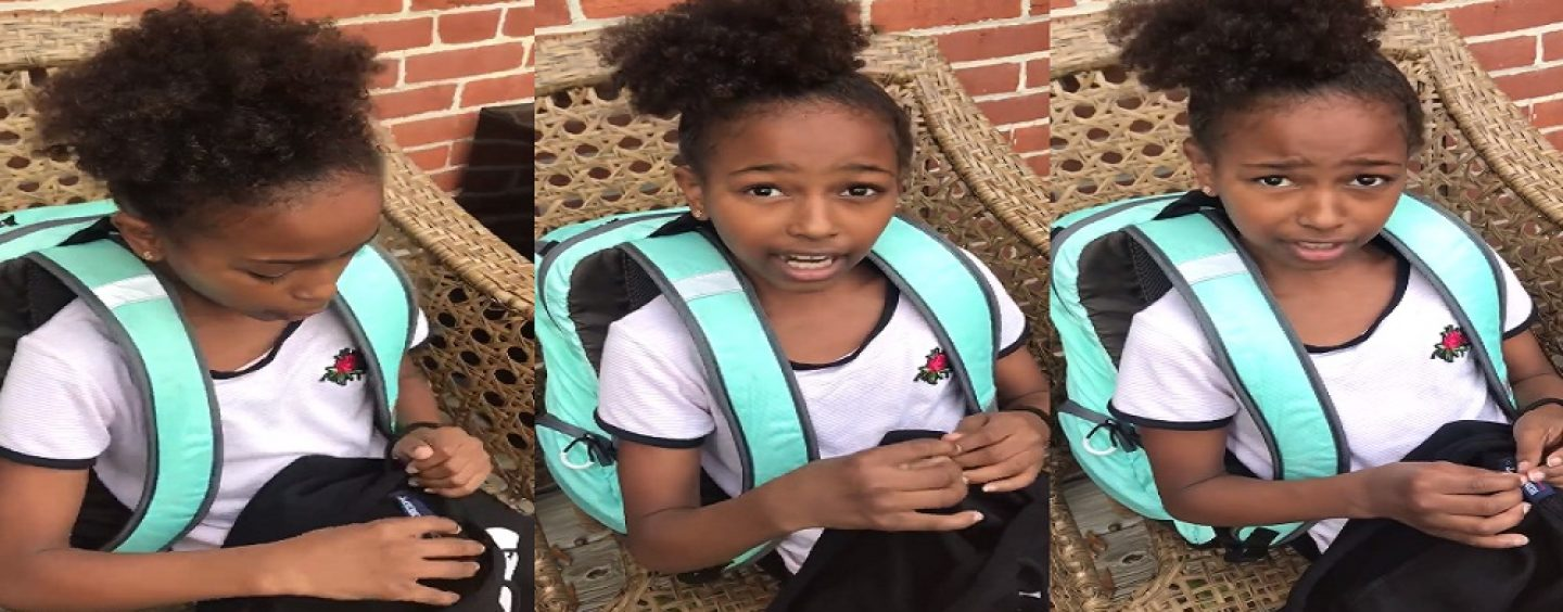 #DBBP – Child Goes On A Disgusting Profanity Laced Rant After Mom Ask Her How Was Her Day In School! (Live Broadcast)