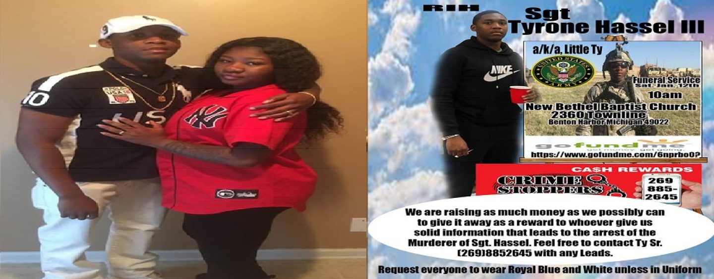 Wife Who Made GoFundMe For Army Sergeant Husband That She Herself Had Killed, Arrested! #iShitUNot (Video)