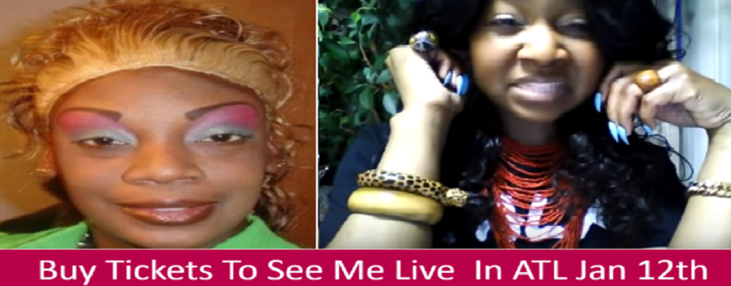 Fly Nubian Felon Explains Says Only Broke Men Dislike Weave & BW Are Unattractive Without Weave! (Live Broadcast)
