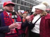 #WomensMarch Protester Grabs Reporter By The Ding-Dong Live In Front Of Cops & Nothing Was Done, WATCH! (Video)