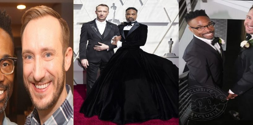 Actor BIlly Porter Wears Gown During Oscars Accompanied By His Husband! Your Thoughts? 213-943-3362 (Live Broadcast)