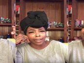 Ole HasBeen Singer Khia SharkMouthTV Decides To Go Off On Tommy Sotomayors Dark Skin! (Live Broadcast)