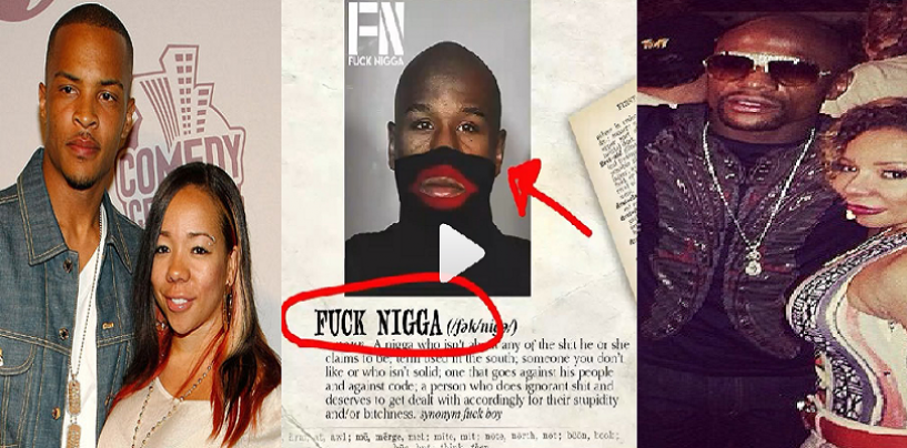 Rapper T.I. Makes Diss Song Dedicated To Floyd Mayweather On Valentines Day. Is He Still Hurt That Floyd F'ed His Wife? (Live Broadcast)