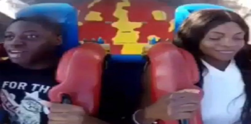 This Happened At A Theme Park That Would Only Happen To One Race Of Women On Earth! (Video)