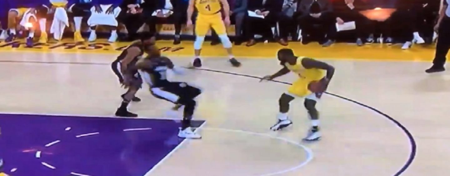 Lance Stephenson Breaks Wizards Jeff Green Ankles With The Sickest Crossover Move In History! (Video)