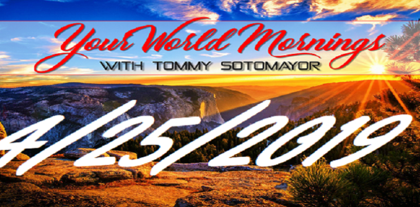 GMSN 4/25/2019 Investigative Reporting, News Stories, Commentary & More With @TjSotomayorKOC (Live Broadcast)