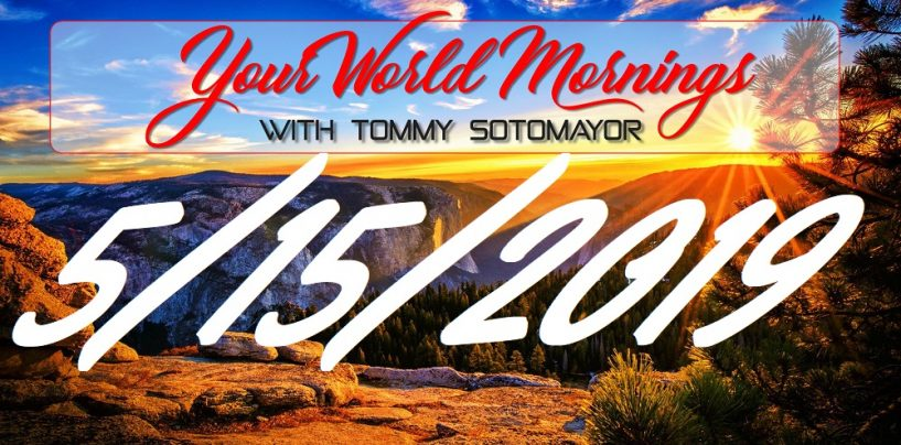 5/15/19 Good Morning Sotonation w/ Tommy Sotomayor (Live Broadcast)