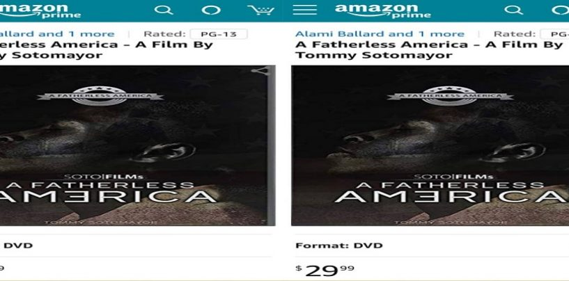 Tommy Sotomayor's Movie A Fatherless America Is Now Live On Amazon.com Link Below For DVD! (Live Broadcast)