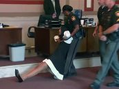 Black Female Judge Dragged Away By Police After Being Sentenced In Her Own Courtroom! (Video)