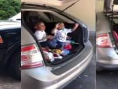Black Mother, 24, with 6 Children Driving Around In The Back of A Hatchback Has This Happen To Her…(Video)