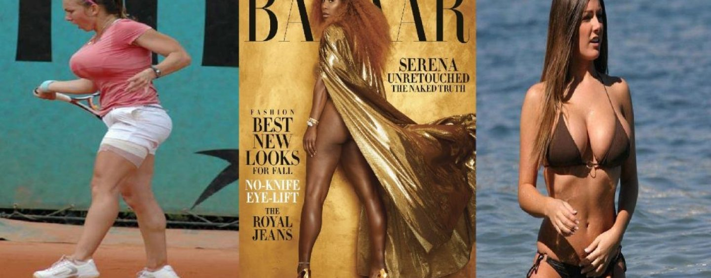 Serena Williams Decides That Its Time To Show The World Her AZZ…AGAIN For The 1 Millionth Time So Why Not Show Some Class Like This Tennis Player? (Video)