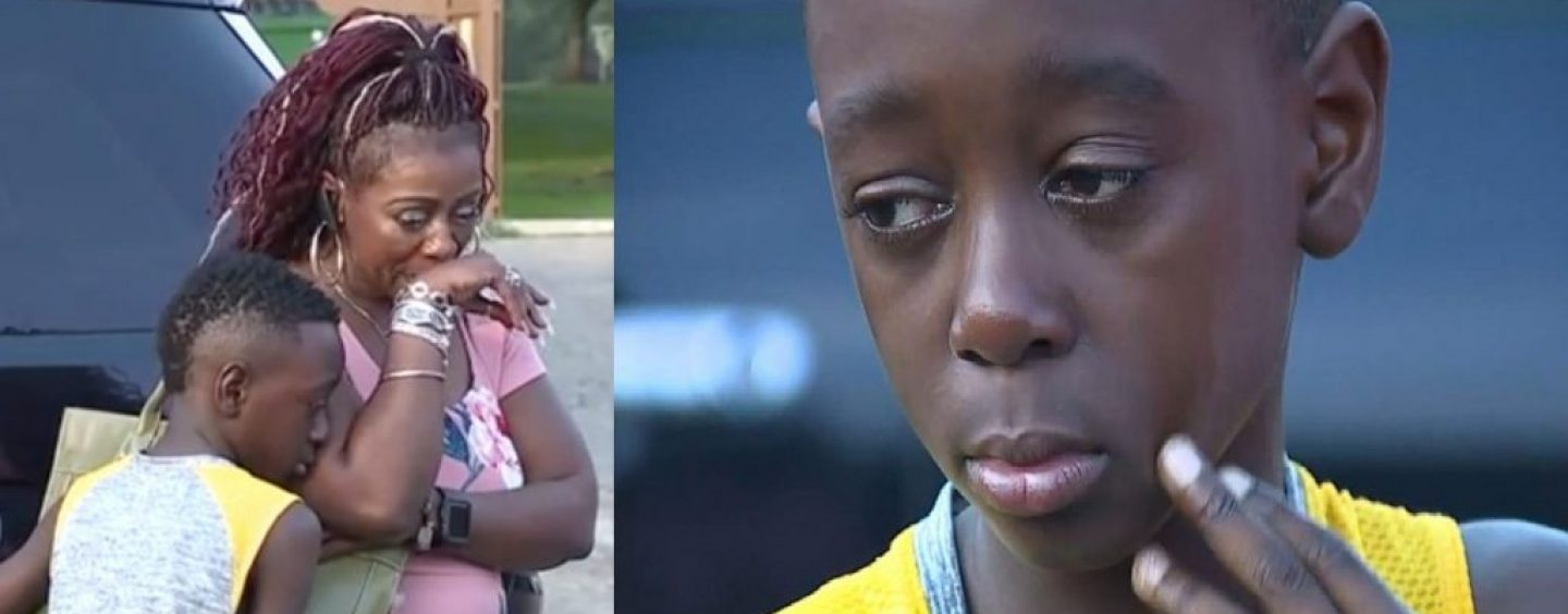 10 Year Old Boy Charged With Felony Assault For Hitting White Kid In The Face During Dodgeball Game! (Video)