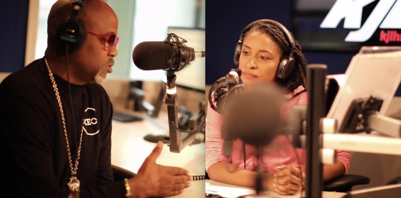 Dame Dash Gets KJLH Host Tammi Mac Told After She Brings Up His Child Support Issues! (Live Broadcast)