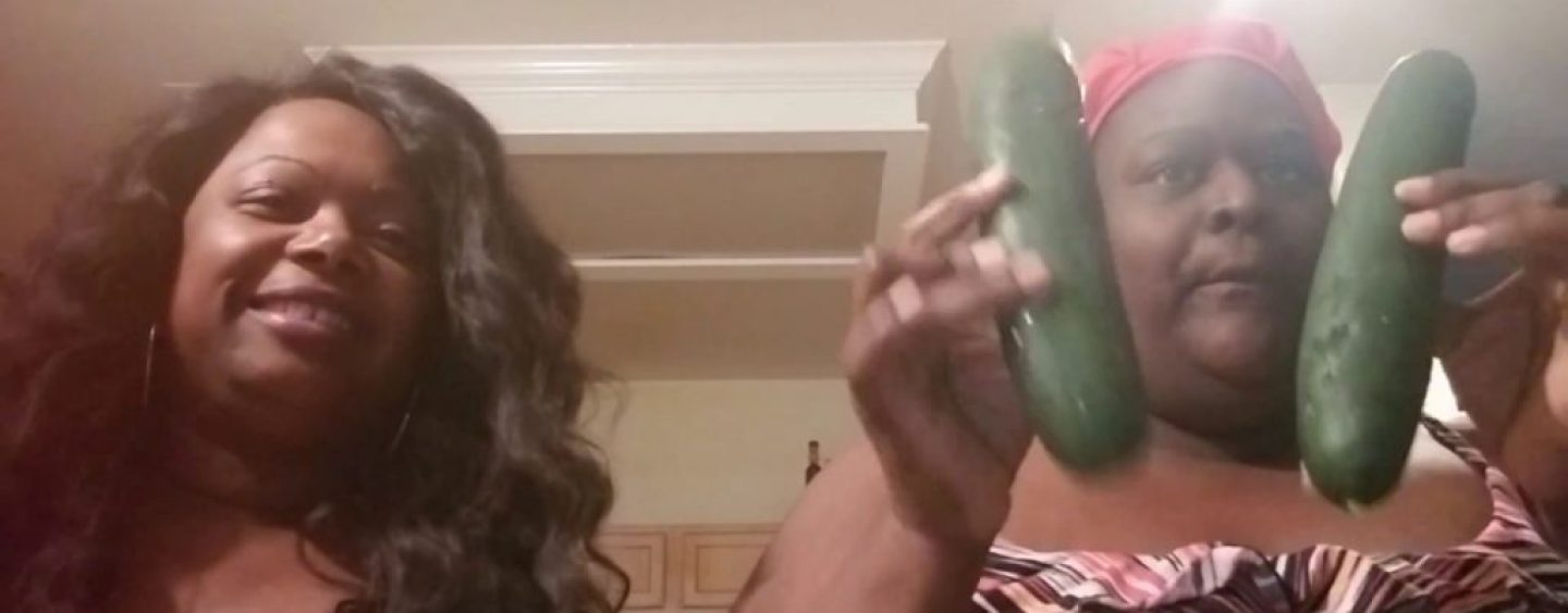 Why Are Black Chicks So Eager To Do The Cucumber Challenge & Any Other Degrading Thing Online? (Live Broadcast)