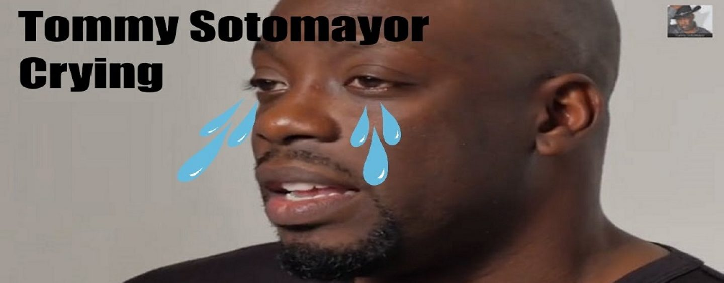 Tommy Sotomayor Begs For Black YouTubes Forgiveness After Crying Live On Air! (Live Broadcast)