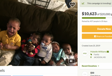24 Year Old Black Chick w/ 6 Kids Continues To Up Her Need On GoFundMe Saying She Wants Money 2 Upkeep Her Life Forever! (Video)