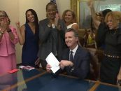 California Gov. Gavin Newsom Signs Into Law That It Is Now Illegal To Not Like Black Women's Hair! (Video)