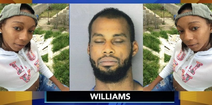 Philadelphia Man Runs Over His Girlfriend Twice With Car Killing Her At Local Gas Station! (Video)