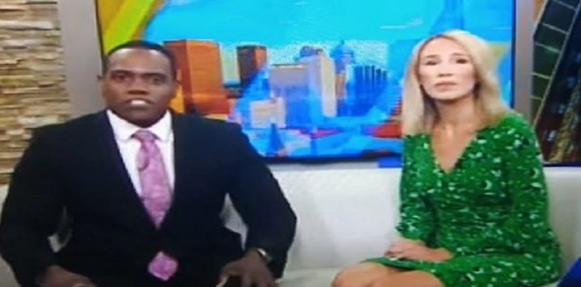 News Lady Compares Her Blak Co Anchor To A Gorilla Then Gives Hilarious Apology! (Video)