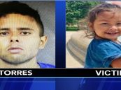 Mom's Live In Boyfriend Punches, Burns & Suffocates Her 2 Year Old Daughter Killing Her In Anger! (Video)