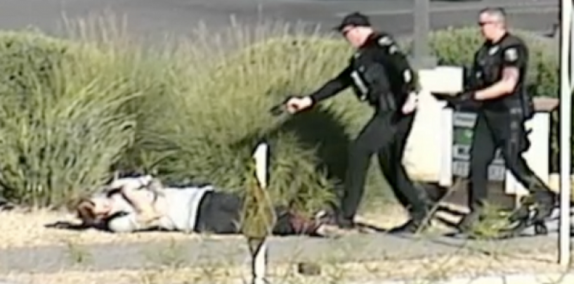 AZ Police Tasered Man With Hands Up After Catching Him Stealing A Bike! Are They Wrong? (Video)