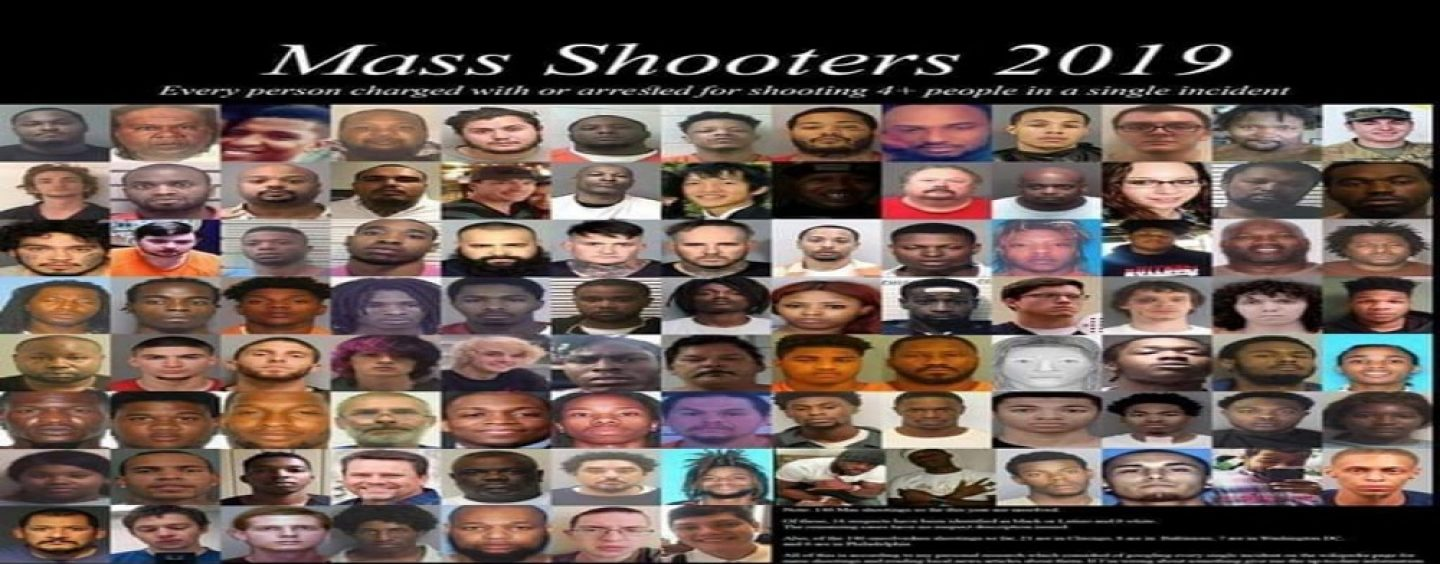 America, Here Are The Faces Of Your Mass Shooters In 2019 But The Media Wont Tell You This! (Live Broadcast)