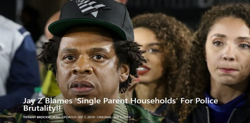 Rapper Jay-Z Is Now Facing Heavy Criticism After Speaking Tommy Sotomayor's Talking Points Against Single Black Mothers! (Video)