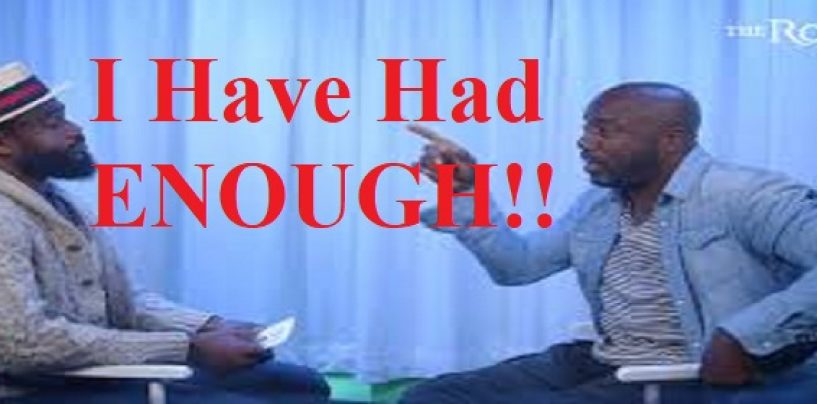 The Java Script: Malik Yoba Storms Out Of An Interview After Being Asked About Buying Sex From Underage Trannies! (Live Broadcast)