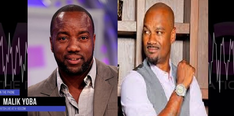 Malik Yoba Tells Big Tigga That He's Not Gay He Just Likes Women With Vaginas & Penises! (Video)