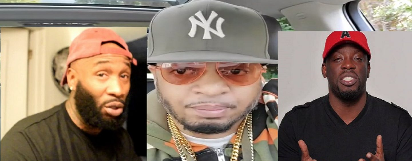 Hassan Campbell' Says That Tommy Sotomayor & Gully TV Need To Have A 3some With Him Or Else They Aren't Real Men! Tommy Responds! (Live Broadcast)