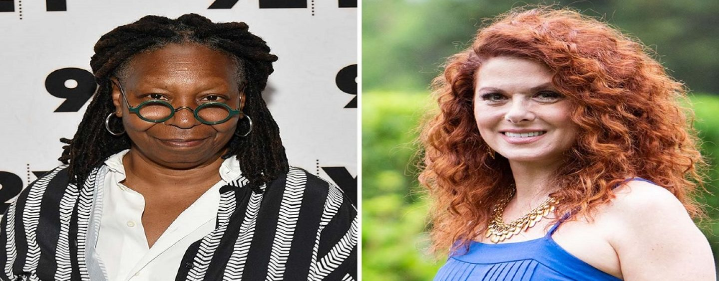 Debra Messing Says Blacks Who Vote For Trump Are Mentally Ill & Whoopie Goldberg Fires Off! (Video)