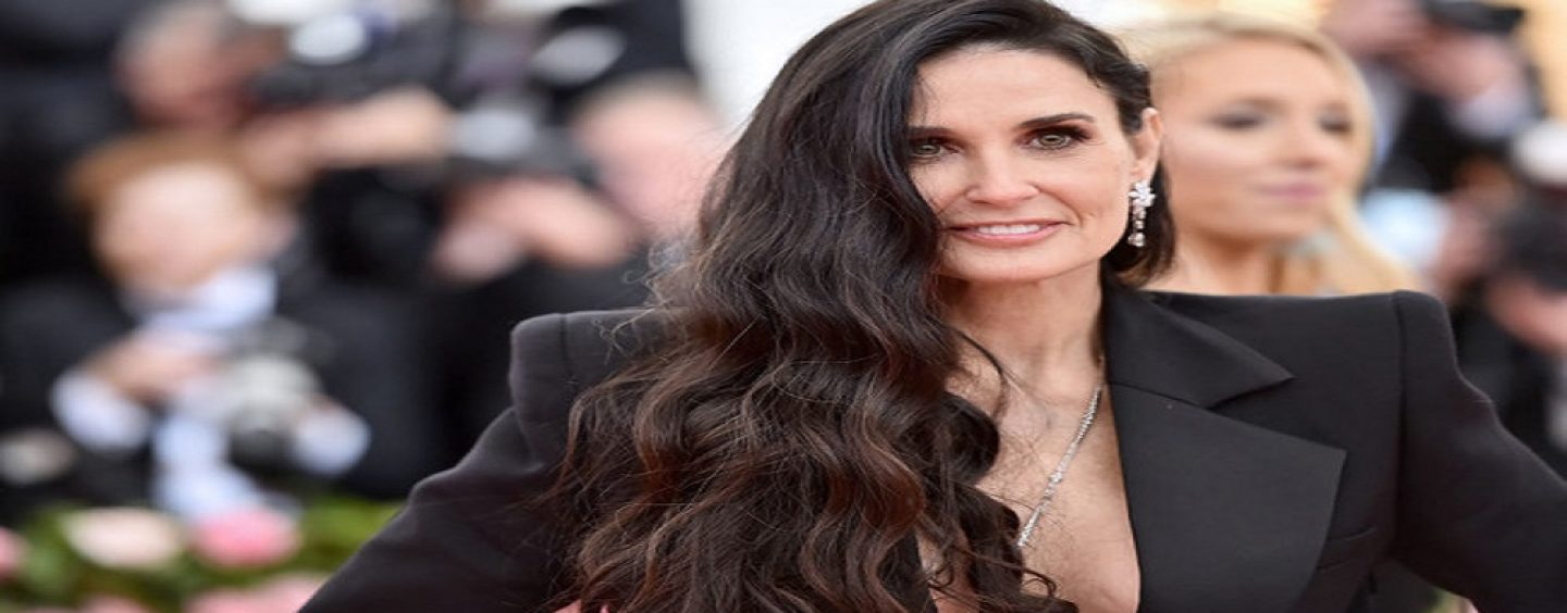 Actress Demi Moore Tells Story Of How Her Mom Whored Her out At 15 To A Man For $500! (Video)