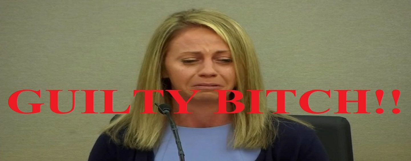 Dumb Snow Hoe, Amber Guyger Ex Dallas Cop, Found Guilty Of Entering Black Man's Apartment & Shooting Him To Death! (Video)