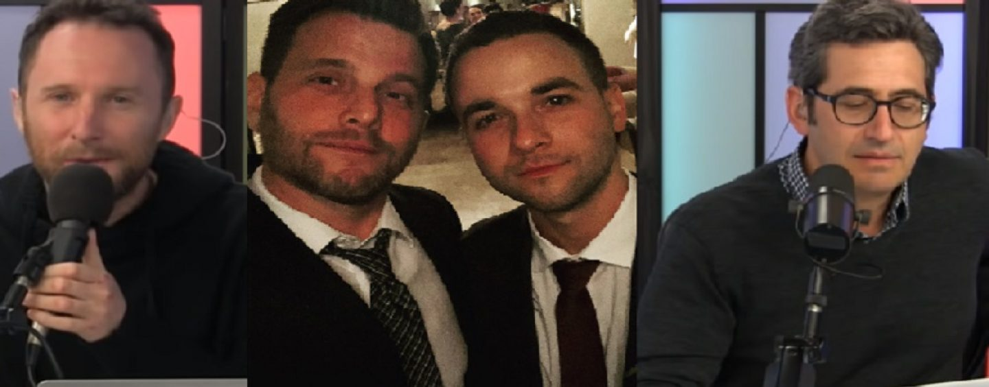 Tommy Sotomayor Finds Himself In The Middle Of These 2 LIVE JEWS Over Him Being Shocked That Dave Rubin Being Is Gay! (Live Broadcast)