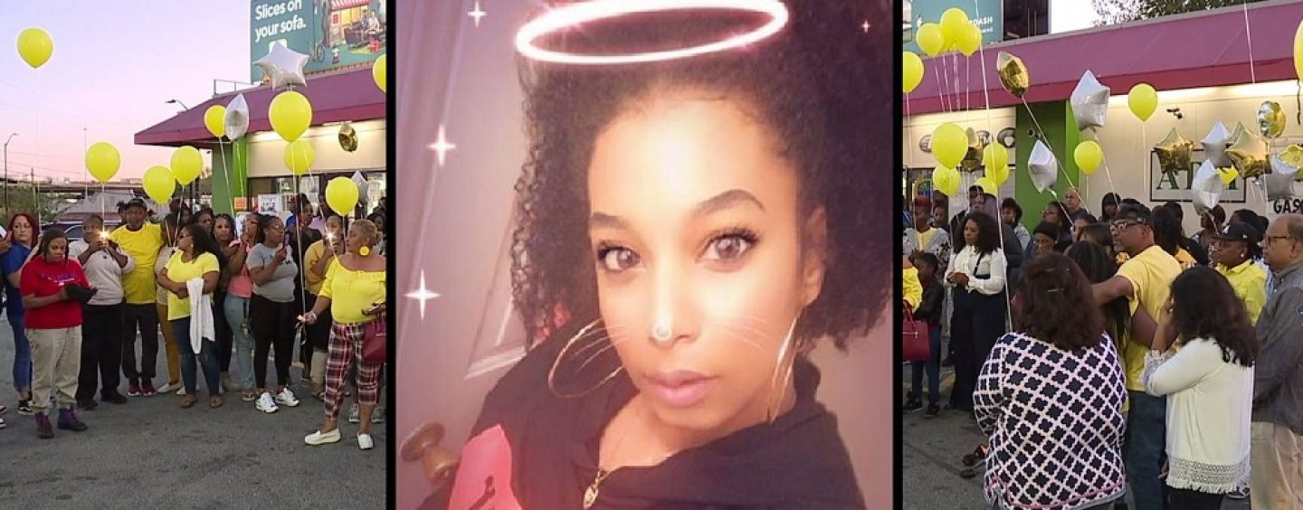 Ghetto Vigil Held For NC Mother Of 2 Run Down & Killed By Her Own Friend During After Club Fight! (Video)