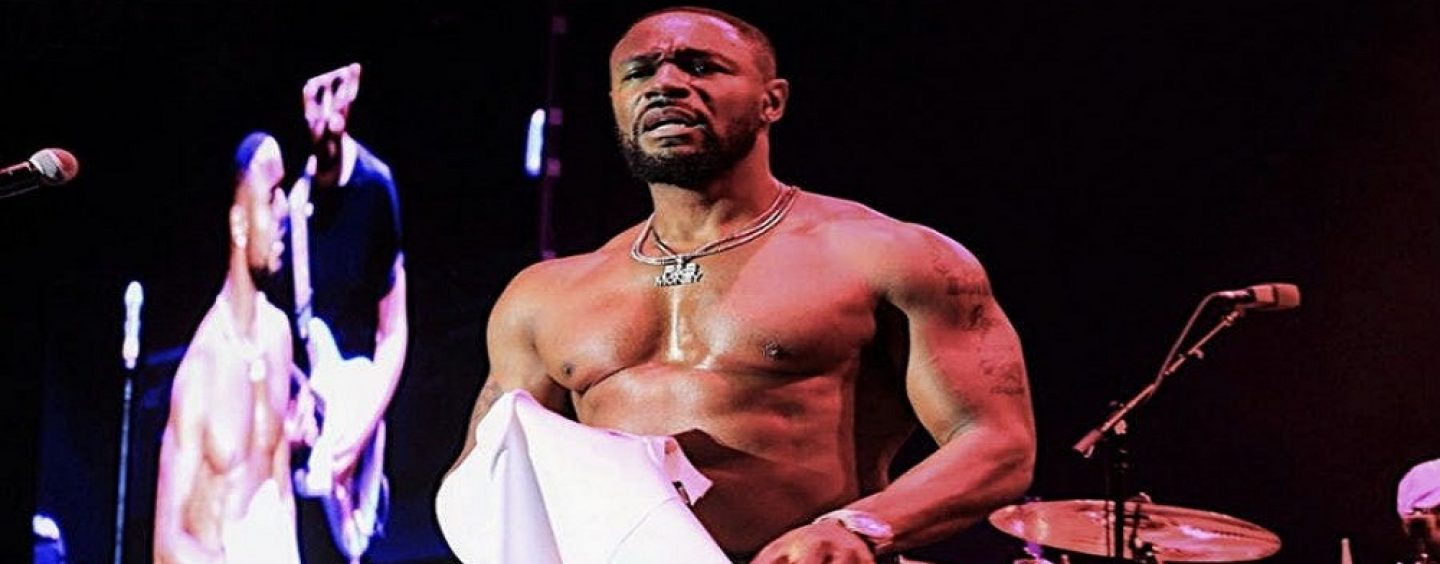 R&B Singer Explains What He Meant About Men Being Able To Suck 2 PENISES & Not Be GAY! (Video)