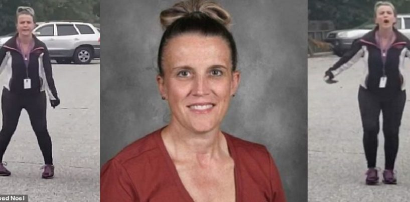 Super Thick White Racist Teacher Suspended After Calling Black Motorist A N*gger After Fender Bender! (Video)