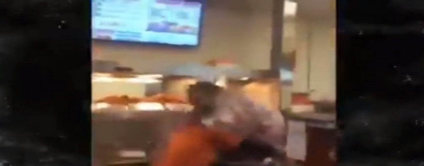 Even The Popeyes Employees Can't Keep From Fighting Over Their New Chicken Sandwich! (Video)