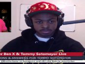Tommy Sotomayor Goes 1On1 With Brother Ben X Of The Nation Of Islam On ALL SUBJECTS! (Live Broadcast)