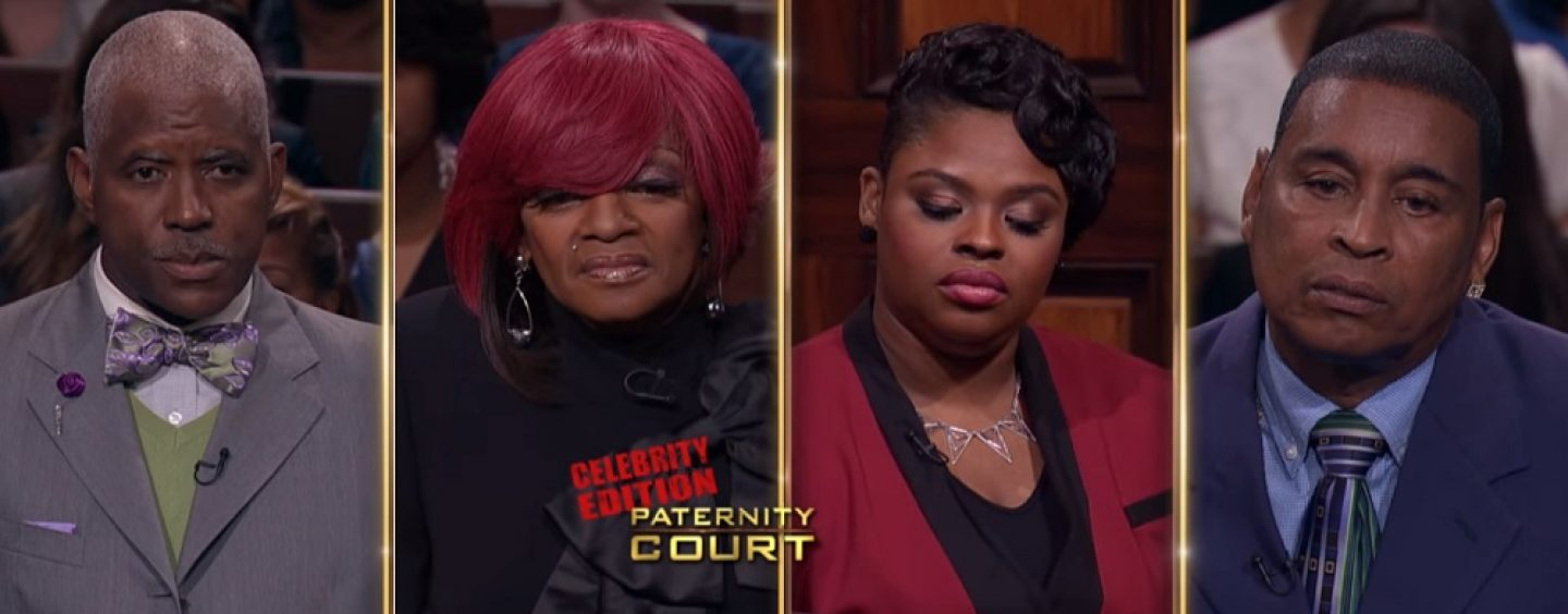 Frankie, Keysha Cole Mom, Goes To Paternity Court To Find Which Of These Men Is Her Daughters Father! (Live Broadcast)